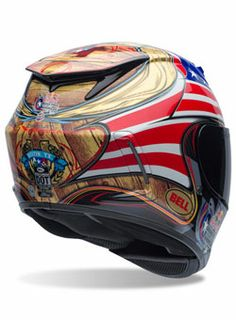 Bell Powersports limited edition Texas-themed Star Carbon helmet for COTA!