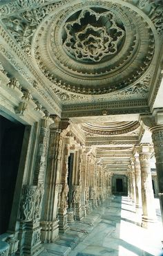 Dilwara Jain temples, Mt Abu - The Wonder that is India - Indian Temple Architecture, India Architecture, Religious Architecture, Ancient Architecture, Beautiful Architecture, Architecture Details, Gothic Architecture, Temple India, Jain Temple