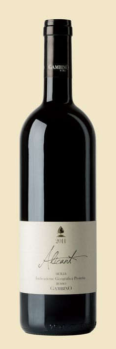 Gambino Vini - Alicante Rosso Vino - Gambino Winery - Alicante Red Etna Wine