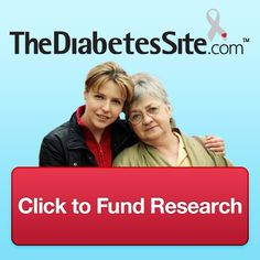 Fund -Diabetes- research with a free click.