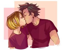 art and tomfoolery, assorted softs … . Cat Doodle, Kuroken, Haikyuu Ships, Kenma, Tag Art, Drawing Reference, Anime Guys, Drawings, Cute