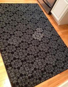 Aprende paso a paso a estampar tu alfombra con el diseño que más te guste....