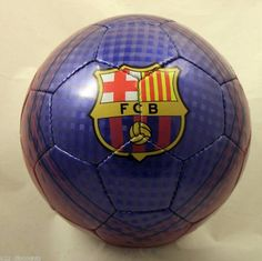 BARCELONA OFFICIAL SOCCER BALL by Rhinox. $18.33. This FC Barcelona ball is perfect to play or just display. This ball is a #5 and it is an official FC Barcelona Merchandise. This ball is a perfect way to show that you are a Barca fan. THE DESIGN OF THIS SOCCER BALL CAN CHANGE IF THIS ONE EXACTLY IS NOT AVAILABLE WHEN YOU PLACE YOUR ORDER...THANK YOU