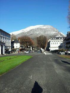 Bagneres-de-Luchon Nov 2012 - the first snow of the season