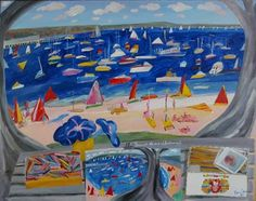 View Down at the end of Balmoral by Ken Done on artnet. Browse upcoming and past auction lots by Ken Done. Kendo, Banksy, Auction, Boat, Adventure, Artwork, Artist, Prints, Windows