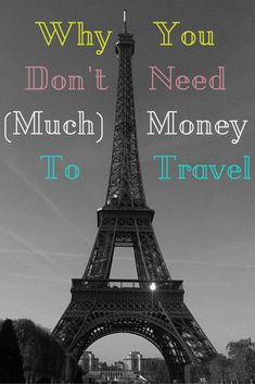Travel DOES NOT have to be expensive!!