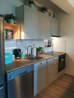 Best Knoxhult Ikea Grey Kitchen House Renovation Grey 400 x 300