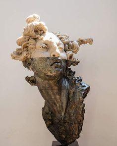 #JavierMarin, #JavierMarinescultor. #escultura de #bronce a la cera perdida y resina poliéster. Lost wax #bronze #sculpture. #arte, #artecontemporaneo. #art, #contemporaryart