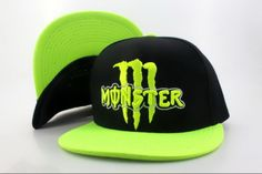 Monster Energy snapback hats
