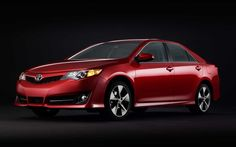 Toyota Camry SE Red