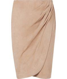 Ralph Lauren suede skirt.
