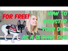How to Register Your Dog as a Service Dog
