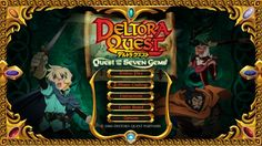 Check out our review for Deltora Quest: Quest for the Seven Gems : -Deltora Quest is an anime based off of a book series, that tells the story of Lief, Barda, and Jasmine, three individuals out to retrieve seven gems and return them to the Belt of Deltora to save it from evil. A fairly exciting premise for a series, though apparently at the mere mention of gems it seems that the online flash gameQuest for the Seven Gems could only go in the most obvious direction and make a match-three…