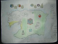 Grade 6 Chaffer: June 2012 Imaginary Maps, Geography, School Ideas, Islands, June, Diagram, Projects, Log Projects, Island