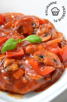 Karkówka pieczona w ketchupie Polish Recipes, Calzone, Ratatouille, Chana Masala, Feel Better, Thai Red Curry, Catering, Grilling, Bbq