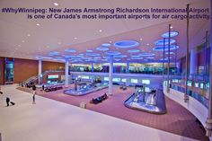 #WhyWinnipeg: New James Armstrong Richardson International #Airport is one of Canada's most important airports for air cargo activity.
