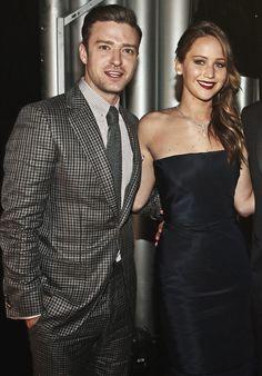 Justin Timberlake & Jennifer Lawrance