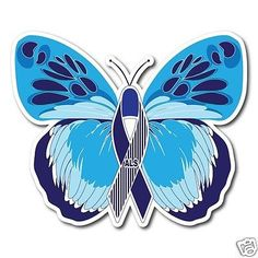 ALS-Amyotrophic-Lateral-Sclerosis-Awareness-Butterfly-Sticker