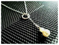 Friendship Ring with Pearl Lariat Necklace  endless by LaLaCrystal, $23.50