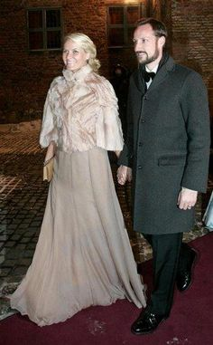 Mette-Marit e Haakon.