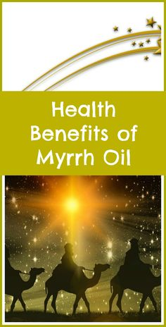 Health benefits of myrrh essential oil. It really was a gift fit for a king. I'm so happy to be able to own this once precious resin, which I use on my face to moisturize my skin and fight wrinkles.