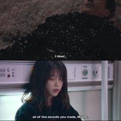 Short Blue Hair, Lee Sun Kyun, Goblin Kdrama, Korean Drama Quotes, Study Pictures, Weightlifting Fairy Kim Bok Joo, Cartoon Quotes, Aesthetic Japan, Korean Couple