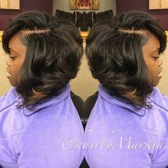 The cut life. Hair by Markia. The cut life. Hair by Markia. Curly Bob Hairstyles, Summer Hairstyles, Weave Hairstyles, Curly Hair Styles, Cool Hairstyles, Natural Hair Styles, Beautiful Hairstyles, Wig Styles, Long Hair Cuts