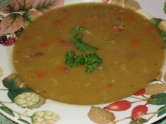 Make and share this Uncle Bill's Green Split Pea With Hambone Soup recipe from Genius Kitchen. Green Split Peas, French Soup, Split Pea Soup Recipe, Celery Rib, Smoked Ham, Looks Yummy, Soups And Stews, Food Photo, Soup Recipes