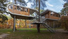 THE TREEHOUSE by Baumraum | HomeDSGN, a daily source for inspiration and fresh ideas on interior design and home decoration.