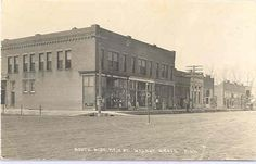 Main Street in Walnut Grove, Redwood County, Minnesota 1918 - See more at: http://s90.photobucket.com/user/red_coyote_mjc/media/LL%20COOK%20ALBUM%202%20POSTCARDS%20PICTURES/7fa7.jpg.html?sort=3=156#sthash.dU9yteAQ.dpuf