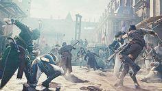 Buy Assassin's Creed Unity (PC, + Bonus Secrets of the Revolution DLC No Disc at online store Assassins Creed Series, Assassins Creed Unity, Assassin's Creed Videos, Assassin's Creed Hidden Blade, Arno, Parkour, Video Game, Cool Photos, Concept Art
