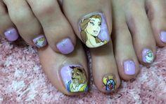 ディズニー : Character nail art