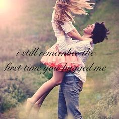 I still remember when my crush first hugged me:)