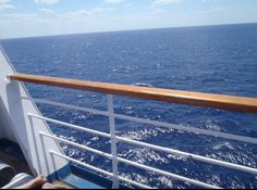 Just relax on a carnival cruise balcony