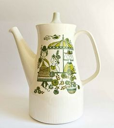 "Retro Pottery Net: Figgjo Norway ""Market"" Design"