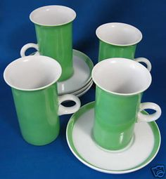 Hey, I found this really awesome Etsy listing at https://www.etsy.com/listing/222112146/mid-century-tall-teacups-1970s-fitz-and