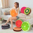 3D Summer Fruit PP Cotton Home Office Chair Seat Back Cushion Sofa Round Pillow