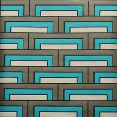 Steps - RF144 Walnut Wallpaper