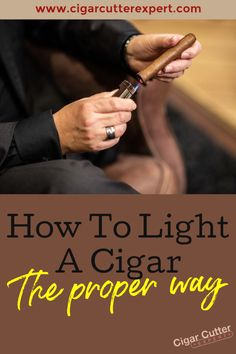 Lighting cigars can be quite tricky to do at first and are not as easy as lighting a simple cigarette. This is because cigars are made slightly differently to cigarettes, and are wrapped a lot tighter. This means more effort is required to fully light the tobacco, and get the cigar smoking experience you desire.  #cigars #cigarsandwhiskey #cigarsandguns #cigarlovers #party #golf #bachelorparty #entrepreneur #entrepreneurship #travel