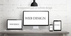 Web header :- An important part of website design