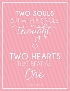 "A free 8x10"" printable love quote!"