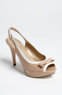 Stuart Weitzman 'Ginger' Slingback | Nordstrom ... i want these shoes!
