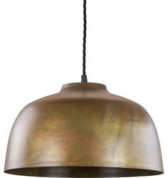 Genoa Pendant Light, Virgin Copper