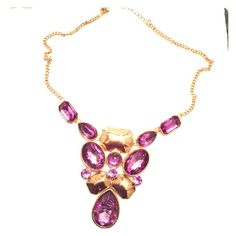 Purple necklace Purple necklace. Jewelry Necklaces