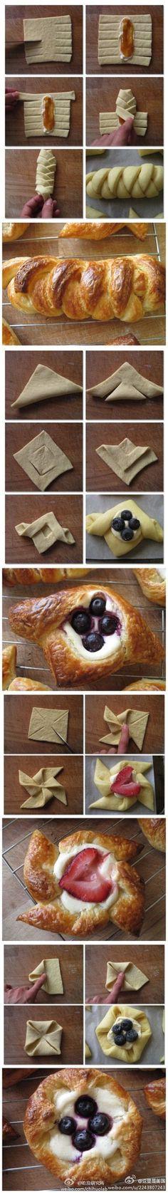 Pastry folding 101 - Imgur