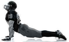 Yoga athlete - man! :)