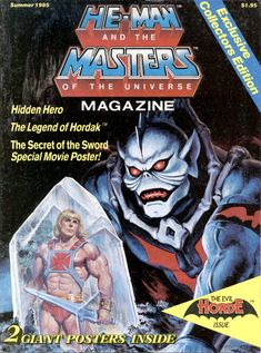 He-Man and the Masters of the Universe magazine!