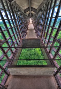 House on the Rock Infinity Room Wisconsin, an hour's drive west of Madison WI