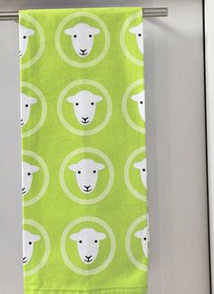 Herdy Tea Towel in Assorted Colours, sold through Hoopers