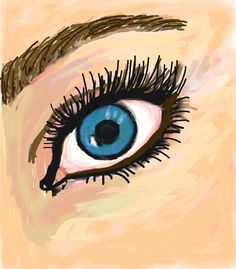 #Eye #Remixed #Colorized #Sketch by Samantha W.  http://www.colorized.by/i/UR2jXsCPswCvAABD/